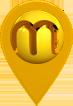 Pin de localização da Mariz