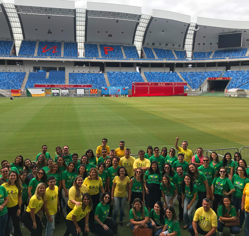 Equipe Arretada marca presença em evento da Jovem Pan Natal
